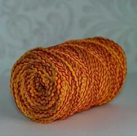 Osttex ШПСМ 5мм жк Шнур полиэфирный 5 мм с сердечником меланжевый (желтый красный) 50м