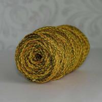 Osttex ШПСМ 5мм жо Шнур полиэфирный 5 мм с сердечником меланжевый (желтый оливковый) 50м