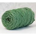 Osttex ШПСМ 5мм сз,тз Шнур полиэфирный 5 мм с сердечником меланжевый (серо-зелёный+тёмно-зелёный) 50м