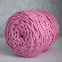 Osttex ШПС 5мм роз Шнур полиэфирный 5 мм с сердечником (розовый) 50м (90)