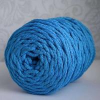 Osttex ШПСМ 5мм сг Шнур полиэфирный 5 мм с сердечником меланжевый (сине голубой) 50м