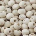 27838_МБ Бусины деревянные круглые 6 мм с отверстием 2 мм, 25 г