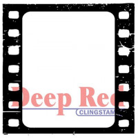 "Deep Red Stamps 3x405020 Резиновый штамп ""Filmstrip"""