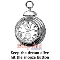 """Deep Red Stamps 3x504317 Резиновый штамп """"Keep the Dream Alive"""""""