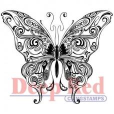 "Резиновый штамп ""Butterfly Swirl"" (арт. 4x505006)"