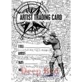 """Deep Red Stamps 4x505136 Резиновый штамп """"ATC Explorer"""""""