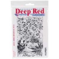 "Deep Red Stamps 5x700055 Резиновый штамп ""Fossil"""