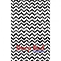 "Deep Red Stamps 5x704467 Резиновый штамп ""Chevron Weave"""
