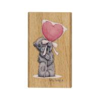 """Docrafts MTY906102 Штамп деревянный """"Огромное сердце"""""""