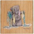 """Docrafts MTY906105 Штамп деревянный """"Весь в галстуках"""""""