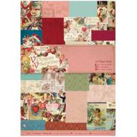 "Docrafts PMA160174 Набор бумаги ""Victorian Valentine"""