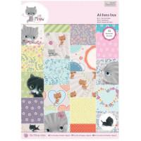 "Docrafts PMA160180 Набор бумаги ""Little Meow"""