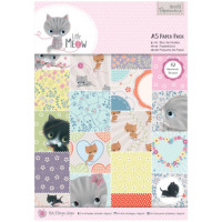 "Docrafts PMA160181 Набор бумаги ""Little Meow"""