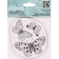 "Docrafts PMA803302 Штамп ""Бабочки"""