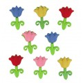 """Dress It Up 5299 Набор декоративных пуговиц """"Весенние тюльпаны"""""""