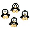 """Dress It Up 5816 Набор декоративных пуговиц """"Милые пингвины"""""""