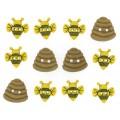 """Dress It Up 6947 Набор декоративных пуговиц """"Маленькие пчелы"""""""