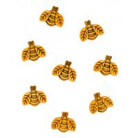 """Dress It Up 735 Набор декоративных пуговиц """"Большие пчелы"""""""