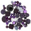 Jesse James 5924 Набор декоративных бусин Ультрафиолетовый