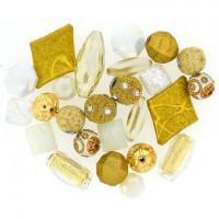 Jesse James 7066 Набор декоративных бусин Белое золото