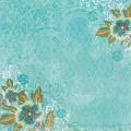 "K&Company KCO-30-621510 Бумага ""Голубые цветы"" (Абрианна)"
