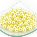 Magic Hobby MAGIC HOBBY Бусины круглые перламутр 10 мм, желтый