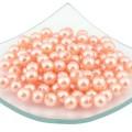 Magic Hobby MAGIC HOBBY Бусины круглые перламутр 10 мм, оранжевый