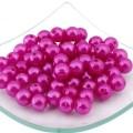 Magic Hobby MAGIC HOBBY Бусины круглые перламутр 12 мм, розовый