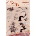 """Mr. Painter ASM-09 Штампы набор """"Китайские мотивы №2"""""""