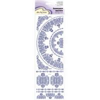 """Mr. Painter CD-03 Наклейки переводные для керамики """"Голубой орнамент"""""""