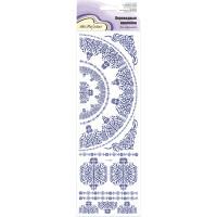 """Mr. Painter CD-04 Наклейки переводные для керамики """"Голубой орнамент 2"""""""