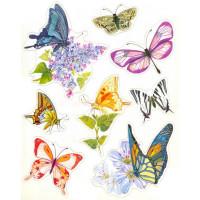 """Mr. Painter ОК-03 Наклейки для окон """"Вальс бабочек 3"""""""