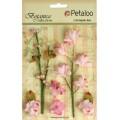 """Petaloo 1100-101 Набор цветов бумажных """"Floral Ephemera- Soft Pink"""" (светло-розовый)"""
