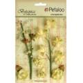 """Petaloo 1100-103 Набор цветов бумажных """"Floral Ephemera- Soft Yellow"""" (cветло-желтый)"""