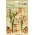 "Petaloo 1100-106 Набор цветов бумажных ""Floral Ephemera- Peach"" (персик)"