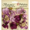 """Petaloo 1101-107 Набор цветов бумажных """"Botanica Minis - Lav/Pur"""" (бледно-лиловый)"""