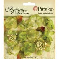 """Petaloo 1101-108 Набор цветов бумажных """"Botanica Minis - Pistach"""" (фисташка)"""