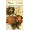 """Petaloo 1102-002 Набор цветов бумажных """"Botanica Blooms - Ivory/Gr"""" (Слон. кость, зеленый, корич.)"""