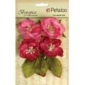 "Petaloo 1102-102 Набор цветов бумажных ""Botanica Blooms - Fuschia"" (фуксия)"