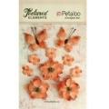 "Petaloo 1201-204 Набор цветов из ткани ""Burlap Blossoms - Apricot"""
