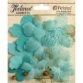 """Petaloo 1257-205 Набор цветов из ткани """"Mixed Textured Layers"""""""