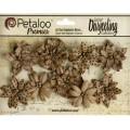 "Petaloo 1478-200 Набор цветов бумажных ""Wild Blossoms - Med-Craft"""