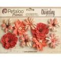 "Petaloo 1478-317 Набор цветов бумажных ""Wild Blossoms - Med-Papri"""
