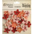 "Petaloo 1481-317 Набор цветов бумажных ""Wild Mini Blossoms - Papr"""
