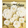 "Petaloo 1836-000 Набор цветов бумажных ""Mixed  Blossoms - White"""