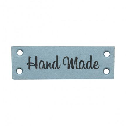 Бирка кожаная пришивная HAND MADE 1,3*7см (арт. 559228-03)