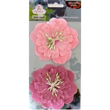 """Рукоделие 6328 Бумажные цветы """"Розовые цветы"""""""