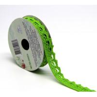 Рукоделие KL-0303/4 Кружевная лента Зеленая