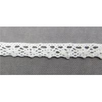 Рукоделие KL-1001/1 Кружевная лента Белая
