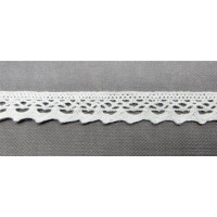 Рукоделие KL-1003/1 Кружевная лента Белая